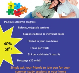 Summer Study Groups Flyer / Pamphlet