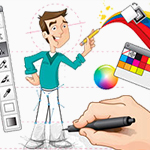 Design Conception for web design projects