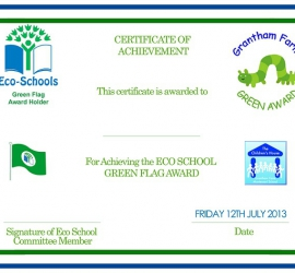 Certificate Eco-Awards