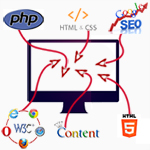 Creation and Development of website