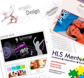 Web Design and Graphic Design Portfolio of our work in South Africa and Europe